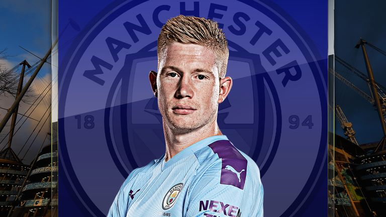 Manchester City's Kevin De Bruyne continues to find space to hurt teams