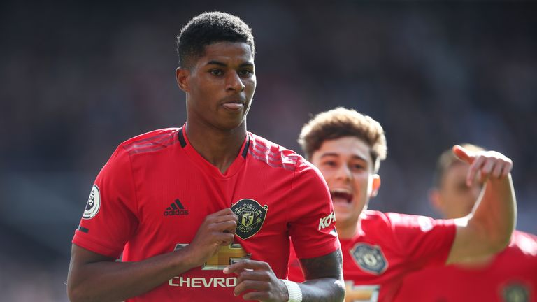 Man Utd 1-0 Leicester: Marcus Rashford penalty gives United much-needed victory