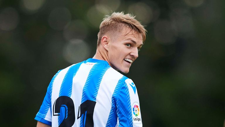 Martin Odegaard back in the spotlight at Real Sociedad on third loan spell away from Real Madrid | Football News |