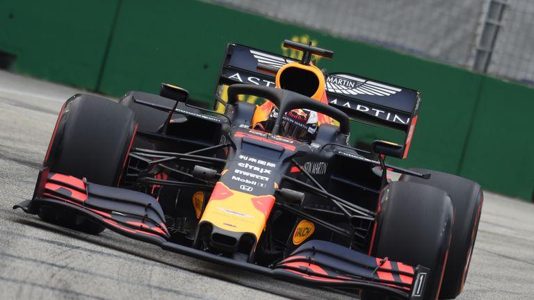 Singapore GP Practice One: Valtteri Bottas crashes, Max Verstappen fastest