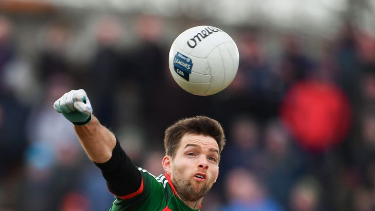 Cafferkey was a rock at fullback for Mayo this decade