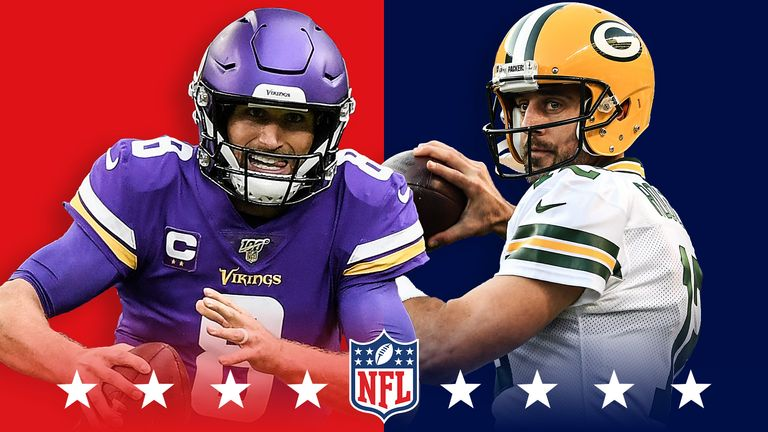 meet c1e39 ef100 Vikings and Packers kick off Sunday's NFL - Jersey Peeps ...