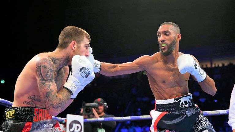 Mohamed Mimoune defeated Sam Eggington in Manchester