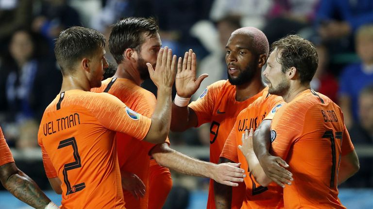 The Netherlands have not qualified for a major tournament since the 2014 World Cup in Brazil