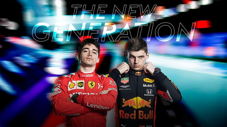 Max Verstappen and Charles Leclerc leading F1's new generation