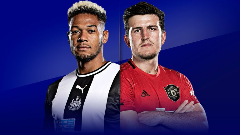 Newcastle vs Manchester United is live on Sky Sports