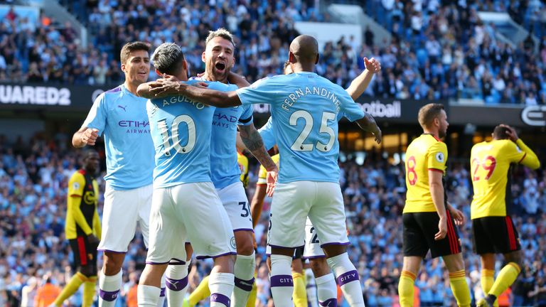 Manchester City recorded their biggest top-flight victory on Saturday