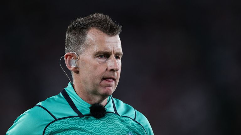 Nigel Owens takes charge of Saturday's quarter-final