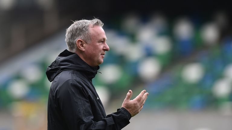 Northern Ireland boss Michael O'Neill has led his side to joint-top of Group C