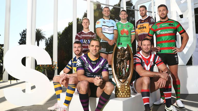 Eight teams remain standing for the NRL's finals series