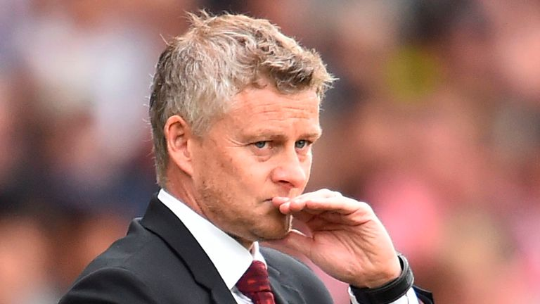 Ole Gunnar Solskjaer watched his side draw 1-1 at Southampton last weekend.