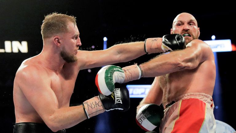 Fury was made to work for victory over Wallin in Las Vegas