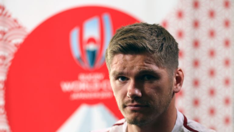 England captain Owen Farrell says Eddie Jones' side are 'quietly excited' ahead of the start of their Rugby World Cup campaign