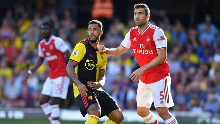 Arsenal draw down to me, says Sokratis Papastathopoulos
