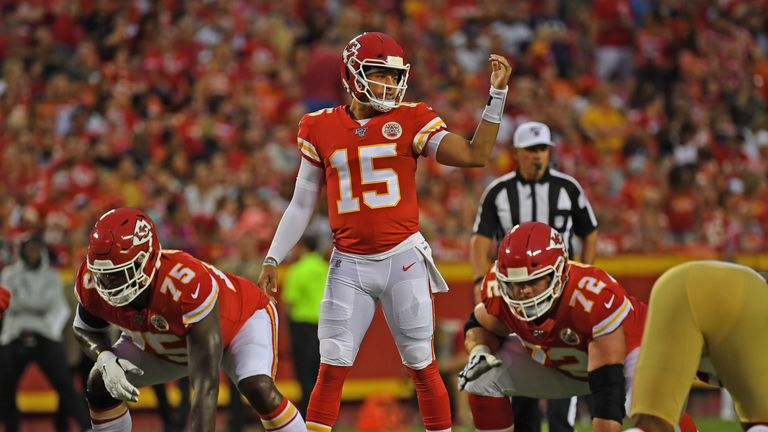 How many touchdowns will Patrick Mahomes throw this season after he managed a league-leading 50 last year?