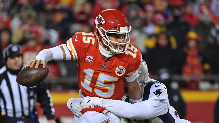 The Chiefs fell just short of a Super Bowl appearance last season, losing in overtime to the Patriots