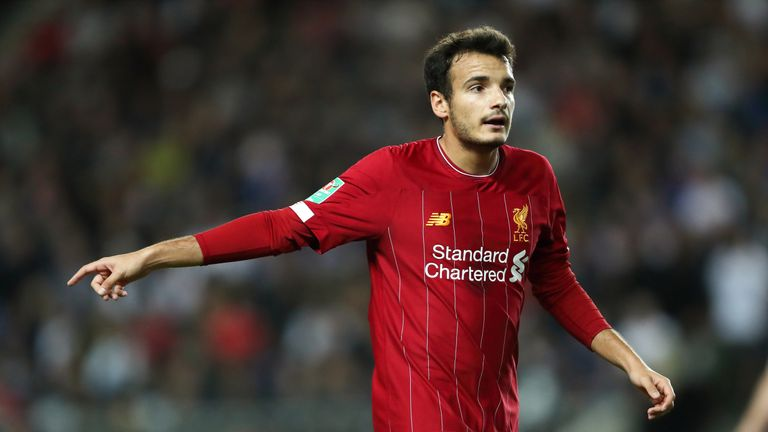 Pedro Chirivella  will start at Anfield on Tuesday
