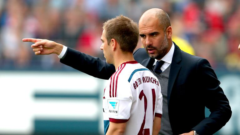 Neville compared Bronze's transition to Philipp Lahm's move into midfield under Pep Guardiola at Bayern Munich