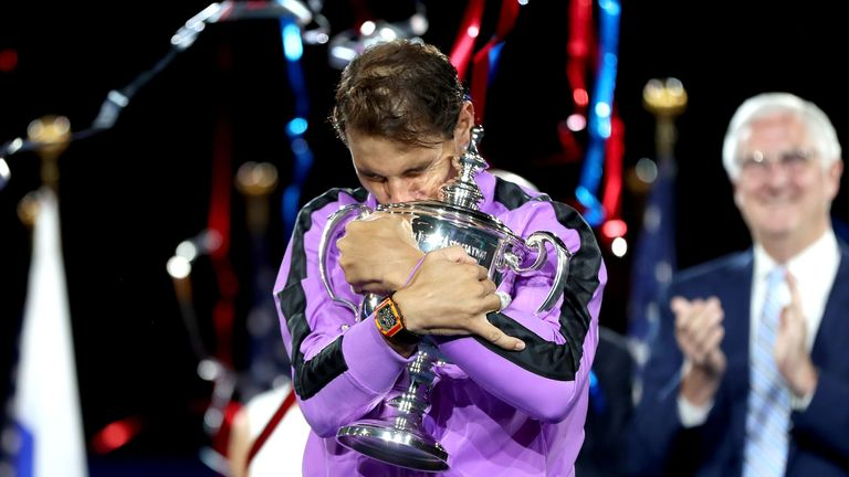 Rafael Nadal won a fourth US Open title in New York on Sunday