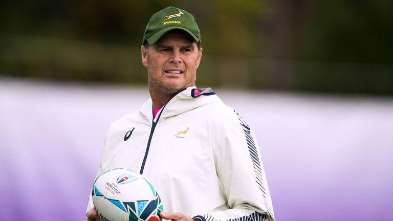 Springbok coach Rassie Erasmus
