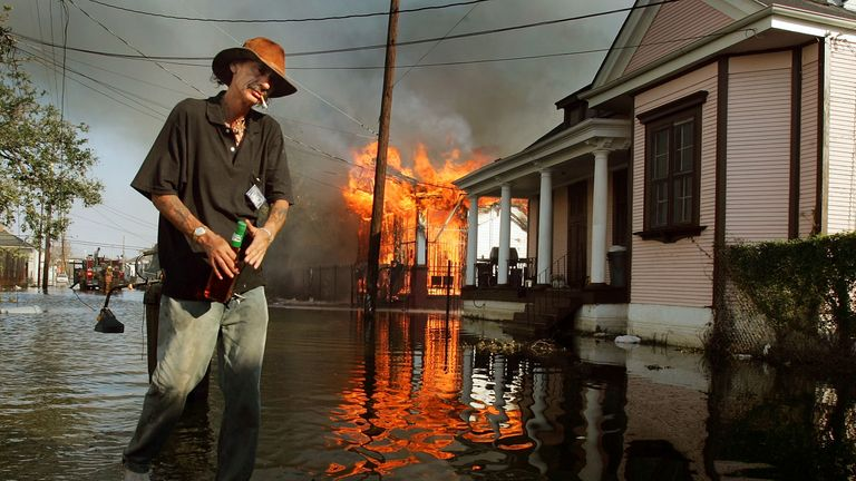 Hurricane Katrina decimated Louisiana