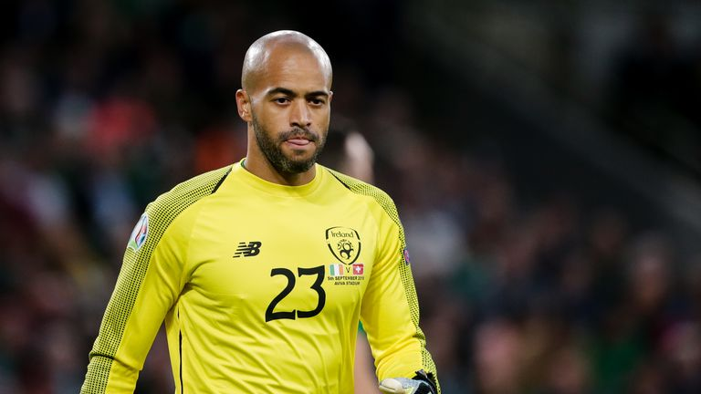 Darren Randolph has been the Republic of Ireland's first-choice goalkeeper in their Euro 2020 qualifying campaign