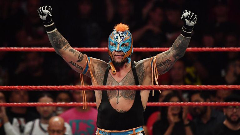 Rey Mysterio will fight Universal champion Seth Rollins for his title on next week's Raw