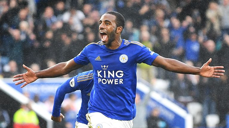 Ricardo Pereira has been given licence to attack from full-back