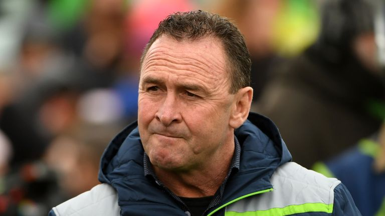 Ricky Stuart has signed a contract extension with Canberra