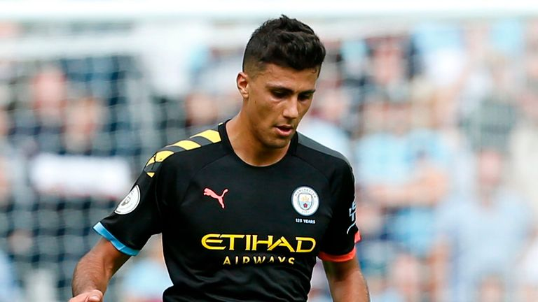 Rodri performed well despite the disappointing defeat