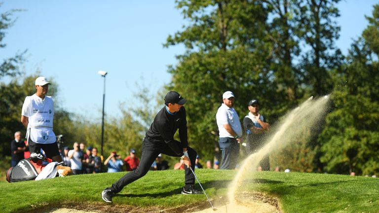 McIlroy found it tough to 'stop the bleeding' at Wentworth