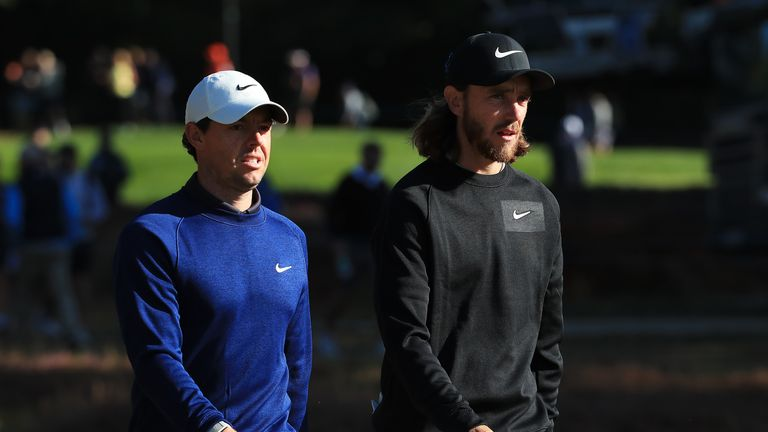 Archie also got to meet Rory McIlroy at Wentworth