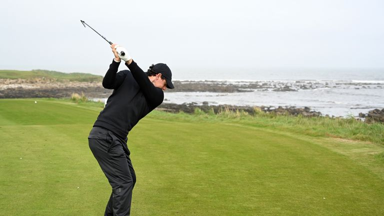 McIlroy is a three-time runner-up at the Alfred Dunhill Links Championship