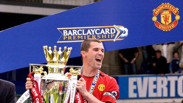Keane won seven Premier League titles at Manchester United