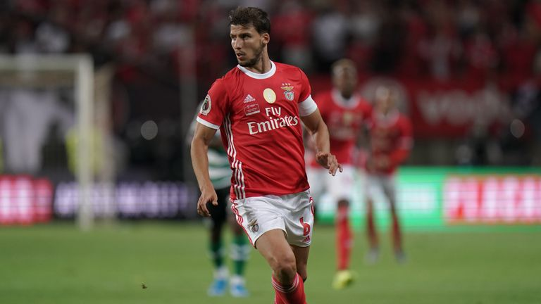 Ruben Dias has been watched by Manchester United
