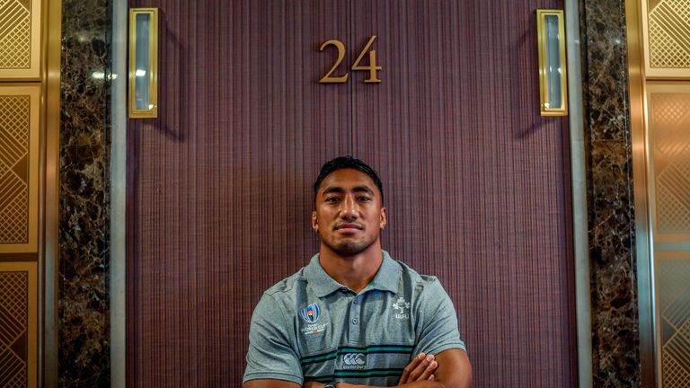 Bundee Aki shrugs off criticism of Ireland role