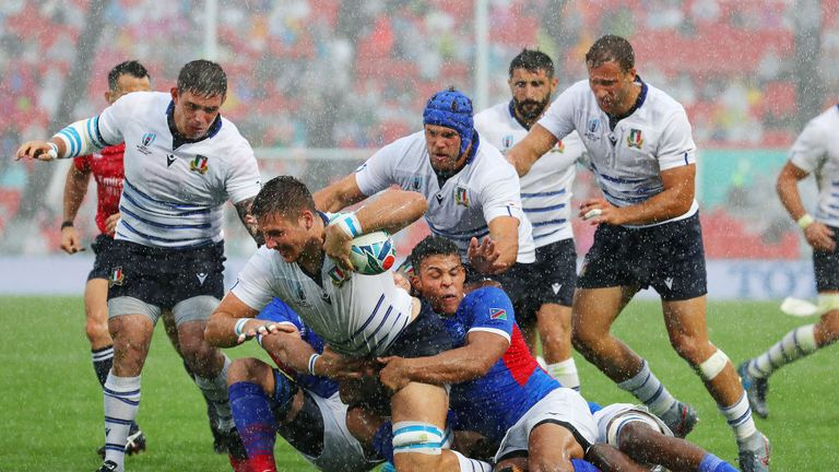 Italy 47 - 22 Namibia - Match Report & Highlights