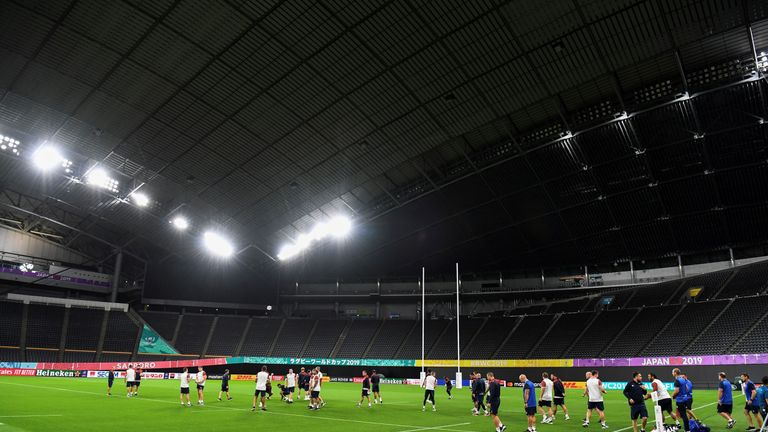 England will play Tonga at the Sapporo Dome