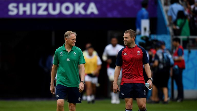 Schmidt had expressed concerns over referee Gardner before the Test, calling Ireland's last experience of him 'incredibly frustrating'