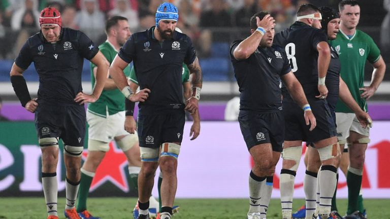 Scotland's loss to Ireland in their first pool match means they need to beat Japan in order to qualify for the quarter-finals