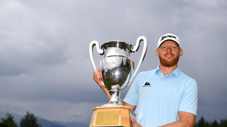 Soderberg enjoyed his first experience of playing with McIlroy