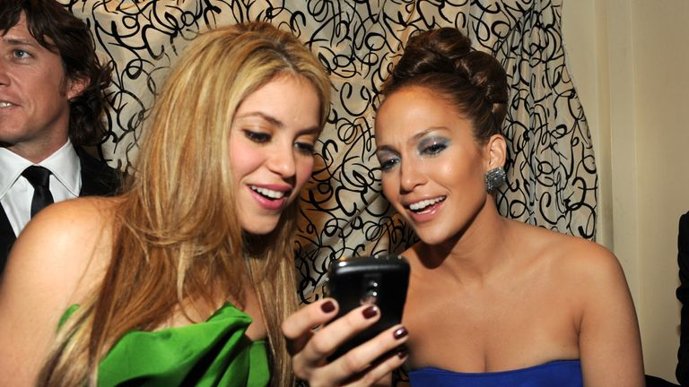 Shakira and Jennifer Lopez will perform at half-time during Super Bowl LIV