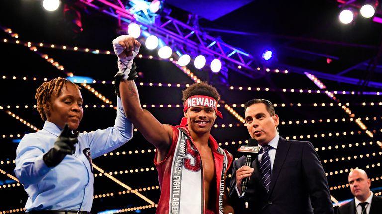 Shakur Stevenson will battle for the vacant WBO belt next month