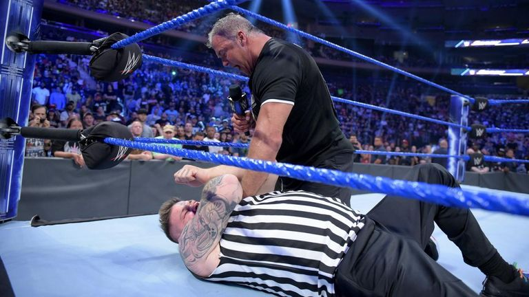 Shane McMahon fired Kevin Owens at the end of SmackDown last week