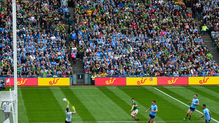 Cluxton made some crucial interjections in the drawn game