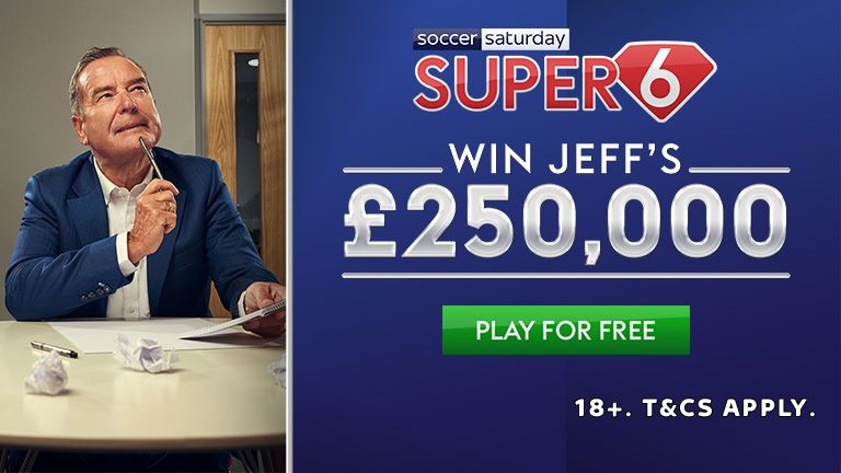 Do not miss out on a free hit to land £250,000 on Tuesday with Super 6!