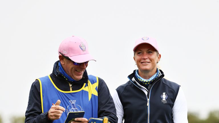 Pettersen will make her ninth Solheim Cup appearance this week