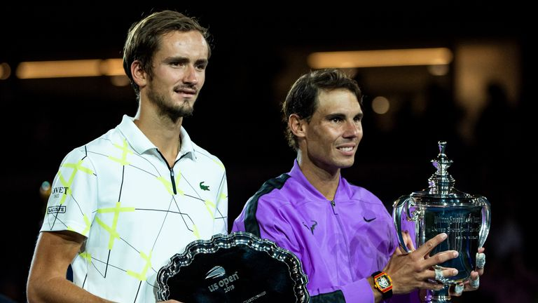 Daniil Medvedev played in a memorable first Grand Slam final against Rafael Nadal