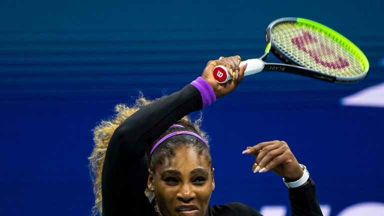 Williams hit 34 winners in her semi-final victory against Elina Svitolina