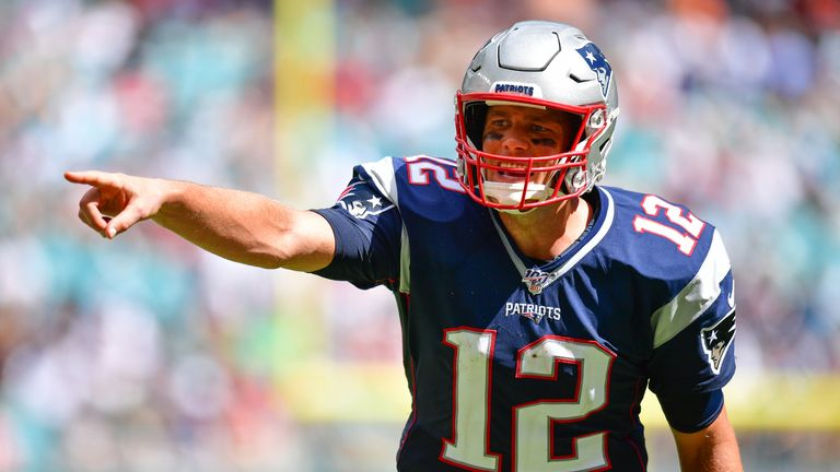Tom Brady and the Patriots are looking as dangerous as ever